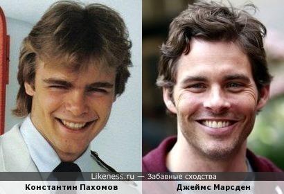 Константин Пахомов и Джеймс Марсден