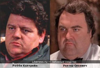 Актёры Робби Колтрейн и Уолтер Олкевич