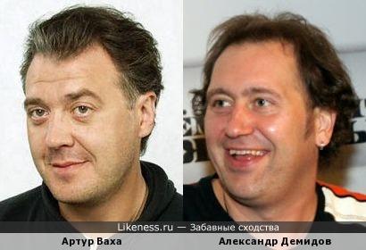 Актёры Артур Ваха и Александр Демидов
