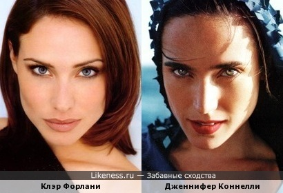 Клэр Форлани и Дженнифер Коннелли