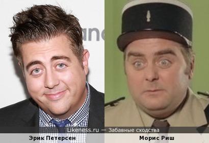 Актеры Эрик Петерсен и Морис Риш