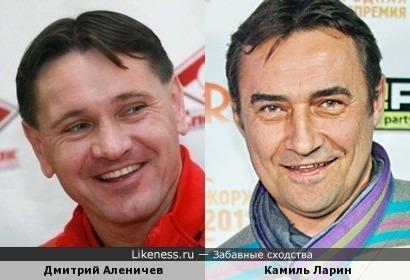 Дмитрий Аленичев и Камиль Ларин