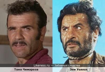 Тано Чимароза напомнил брутального Эли Уоллаха