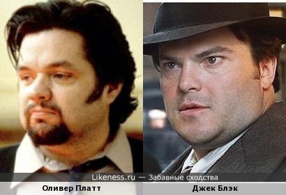 Оливер Платт и Джек Блэк