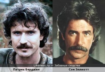 Патрик Берджин и Сэм Эллиотт