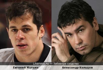 Евгений Малкин и Александр Кольцов