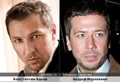 Константин Адаев и Андрей Мерзликин