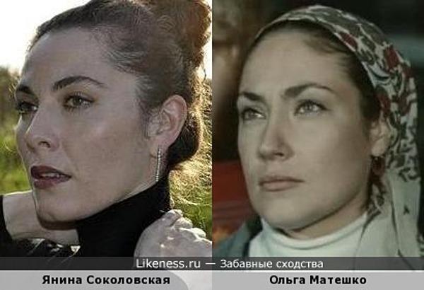 Янина Соколовская напомнила Ольгу Матешко