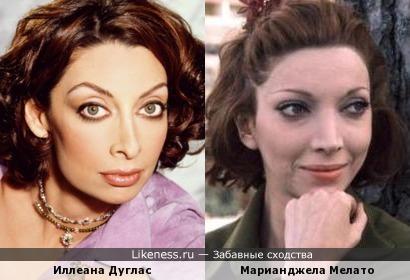 Иллеана Дуглас и Марианджела Мелато
