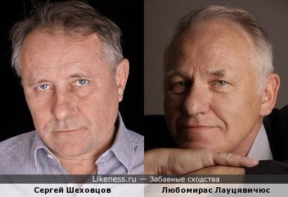 Сергей Шеховцов и Любомирас Лауцявичюс
