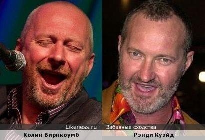 Колин Вирнкоумб и Рэнди Куэйд