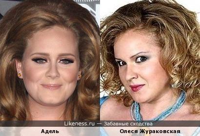 Адель и Олеся Жураковская