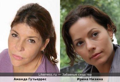 Аманда Гутьеррес и Ирина Низина