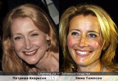 Патриша Кларксон и Эмма Томпсон