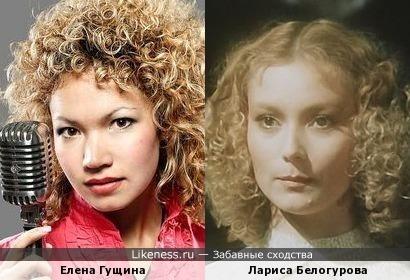 Елена Гущина и Лариса Белогурова