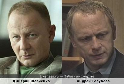 Дмитрий Шевченко и Андрей Толубеев
