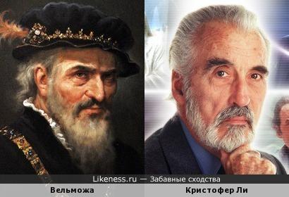 Вельможа на картине А. Шишкина напомнил Кристофера Ли