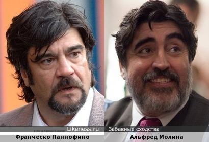 Франческо Паннофино и Альфред Молина