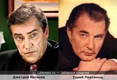 Дмитрий Матвеев и Харий Лиепиньш