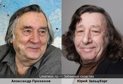 Александр Проханов и Юрий Зальцберг