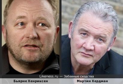 Бьярне Хенриксен и Мартин Хердман