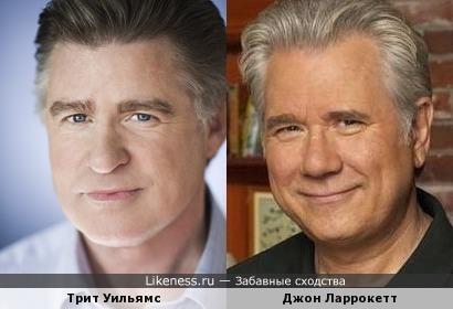 Трит Уильямс и Джон Ларрокетт