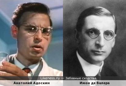 Анатолий Адоскин напомнил Имона де Валера