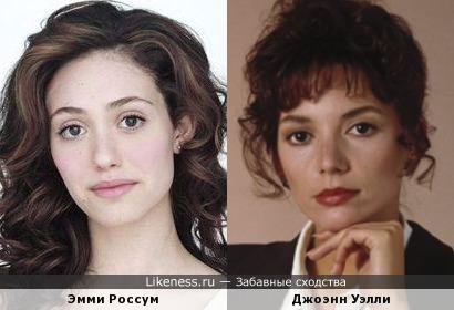 Эмми Россум и Джоэнн Уэлли