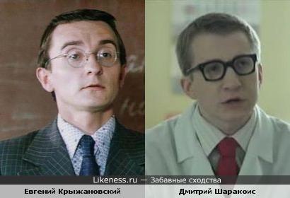 Евгений Крыжановский и Дмитий Шаракоис