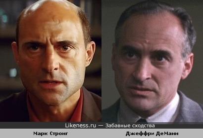 Марк Стронг и Джеффри ДеМанн