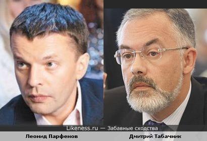 Леонид Парфенов и Дмитрий Табачник