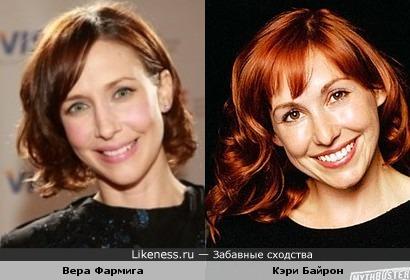 Вера Фармига и Кэри Байрон