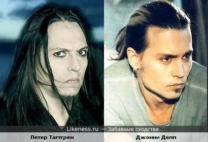 "Лидер ""Hypocrisy"" и Джонни Депп"