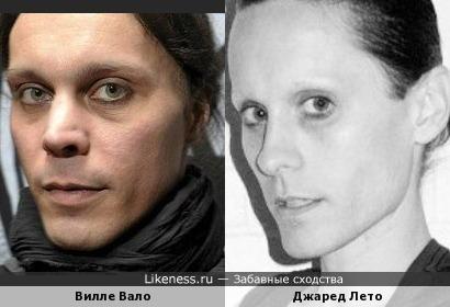 Вилле Вало и Джаред Лето