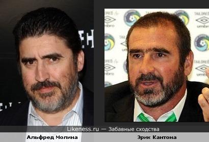 Альфред Молина и Эрик Кантона