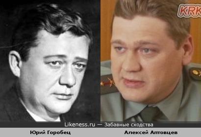 Юрий Горобец и Алексей Аптовцев похожи