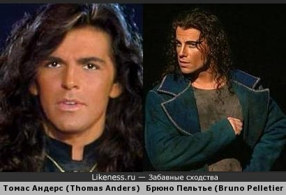 Брюно Пельтье в образе Гренгуара похож на Томаса Андерса