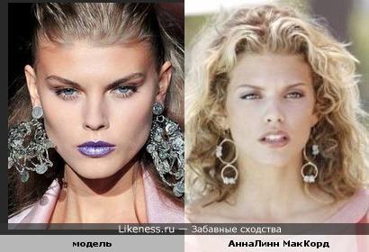 АннаЛинн МакКорд и модель