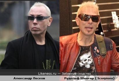 Александр Песков и Рудольф Шенкер похожи.