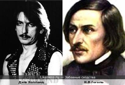 Бывший барабанщик группы Judas Priest похож на Гоголя