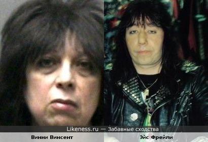Бывшие гитаристы Kiss похожи
