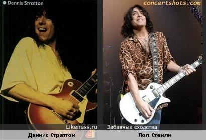 Бывший гитарист Iron Maiden похож на гитариста Kiss