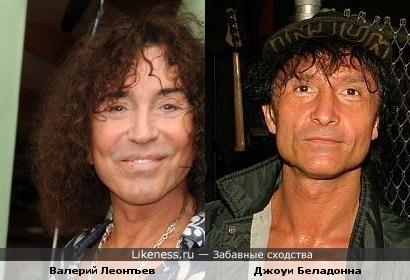 Леонтьев похож на вокалиста группы Anthrax