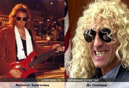 Бывший бас-гитарист Scorpions похож на вокалиста группы Twisted Sister