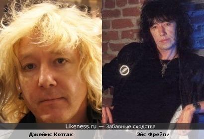 Барабанщик группы Scorpions со временем стал похож на Эйса Фрейли (экс-Kiss)