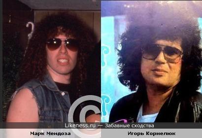 Басист группы Twisted Sister и Игорь корнелюк в молодости были похожи