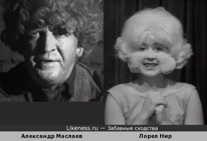"Актёр Александр Маслаев напомнил Девушку из батареи (персонаж фильма ""Голова-Ластик"")"