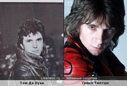 Ныне неизвестный рок-певец и гитарист Judas Priest похожи
