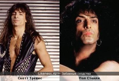 Барабанщик из Judas Priest похож на гитариста и вокалиста из Kiss