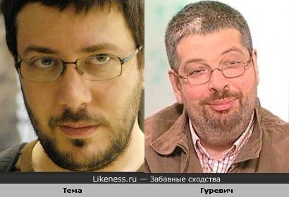 Артемий Лебедев похож на А.Гуревича